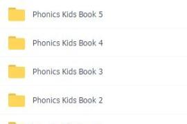 蒲公英自然拼phonics kids 自然拼读 全套PDF+视频(1-6)全季