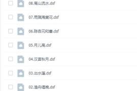 中国古琴古筝名曲dsd