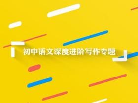 wm中学初中语文深度进阶写作专题48节视频课程
